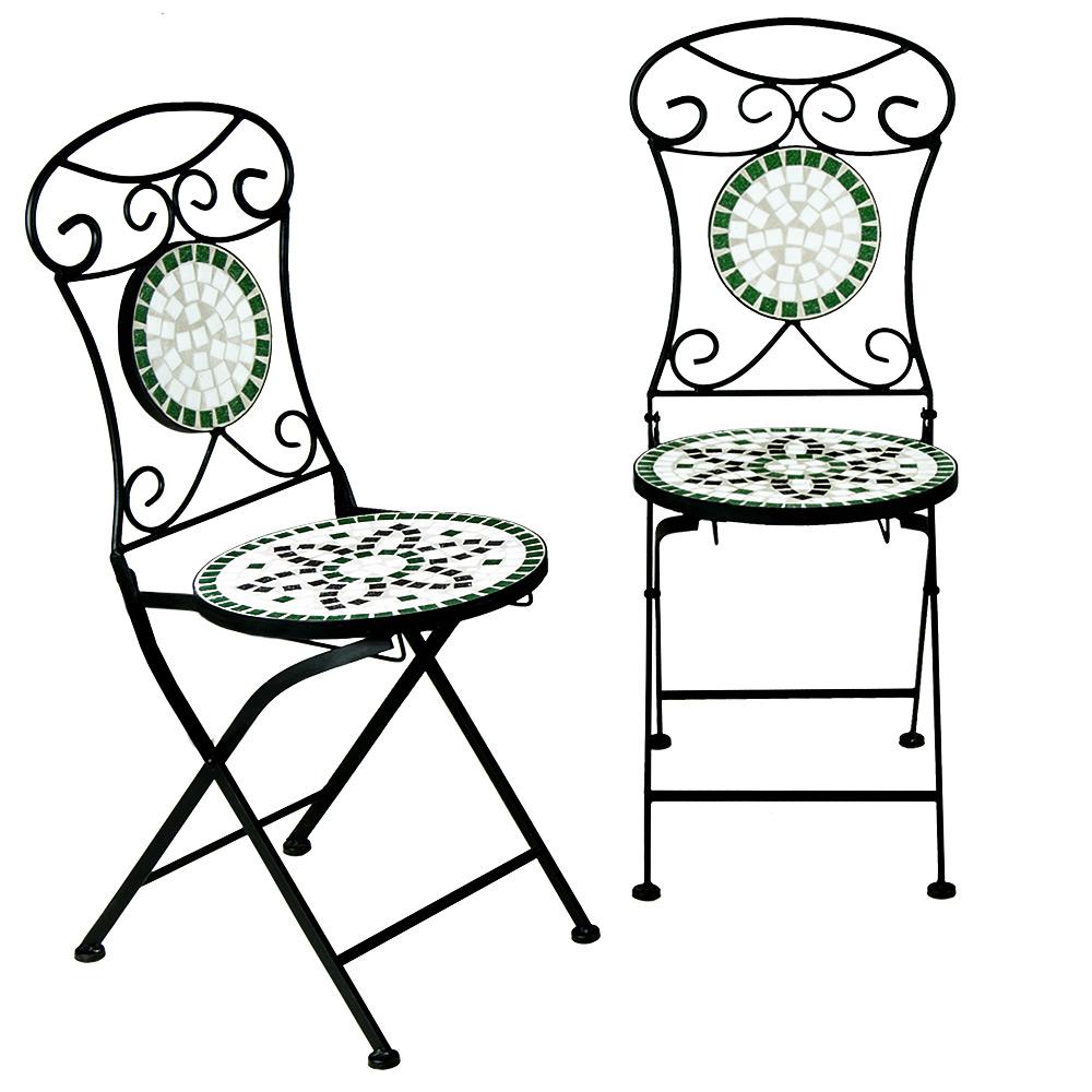 Mosaikgarnitur Sitzgranitur Mosaik Garnitur Gartentisch