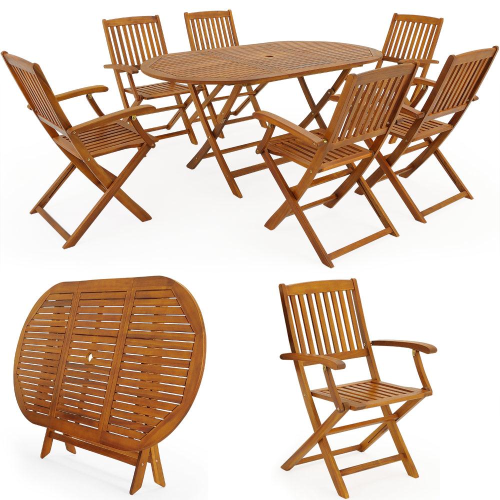 Sitzgruppe Boston Sitzgarnitur Holz Gartengarnitur Gartenmöbel Tisch ...