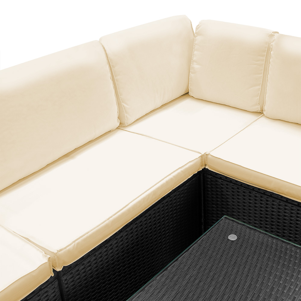 Rattan Furniture Corner Sofa Ebay: Poly Rattan Garden Furniture Sofa Set Outdoor Patio