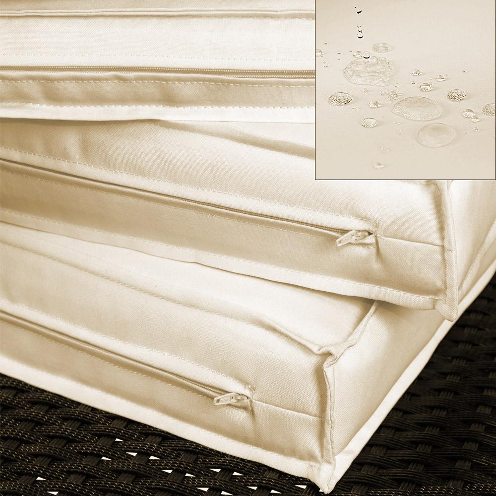 deuba poly rattan lounge set sitzgruppe garten garnitur. Black Bedroom Furniture Sets. Home Design Ideas
