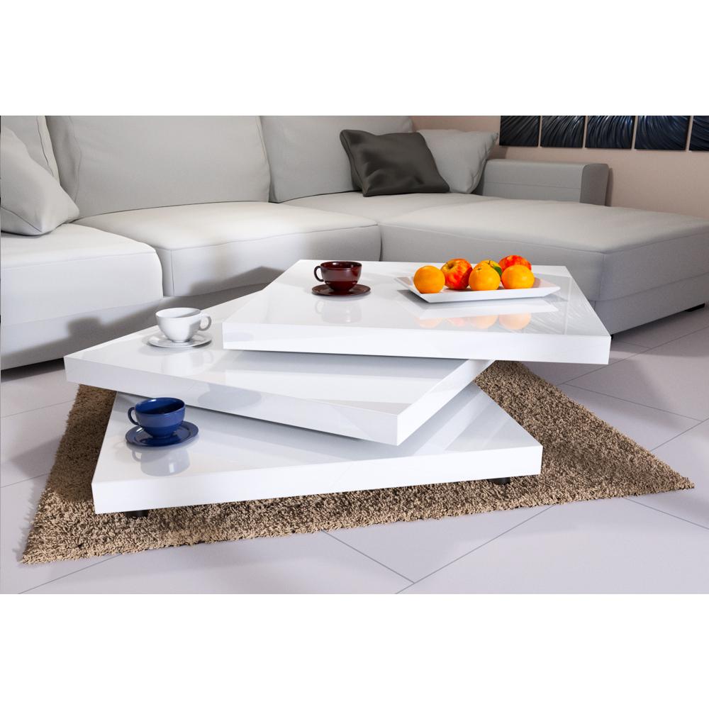 deuba couchtisch wohnzimmertisch hochglanz beistelltisch wohnzimmer sofa tisch ebay