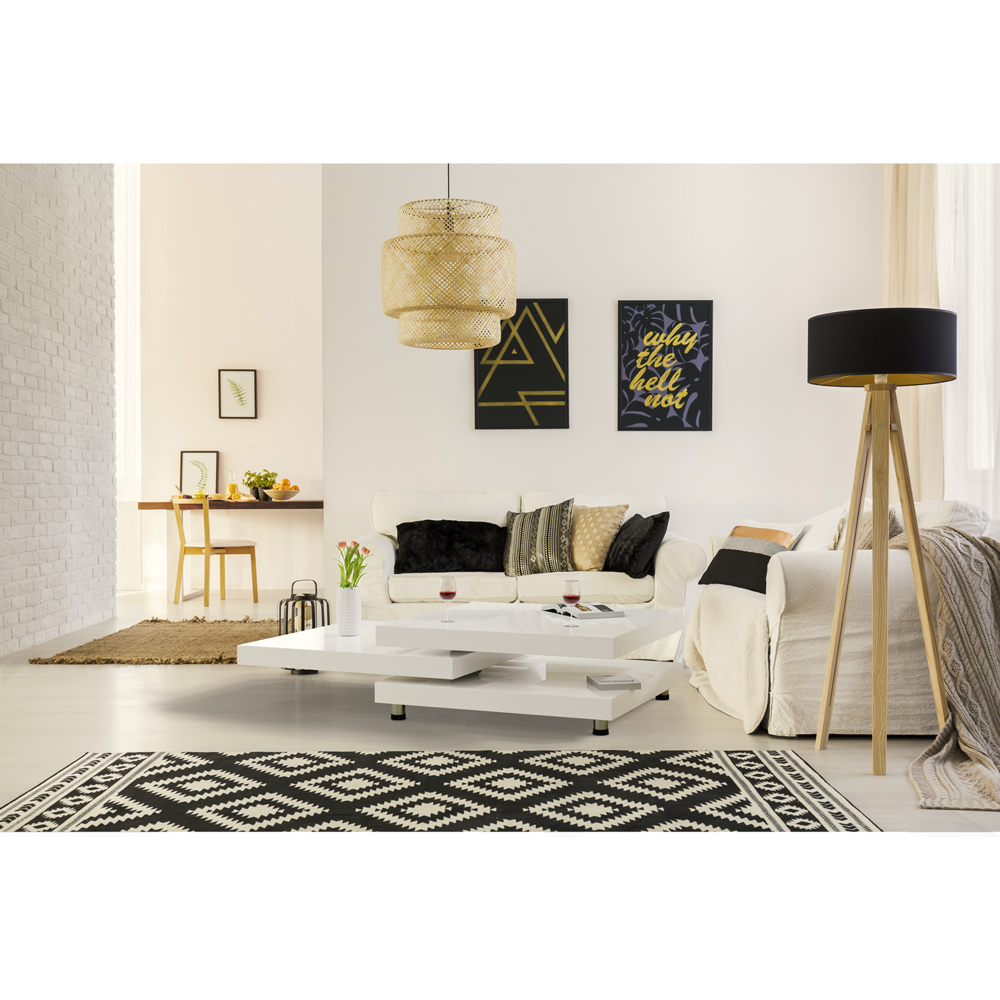 couchtisch hochglanz wei wohnzimmertisch beistelltisch sofa holz tisch modern ebay