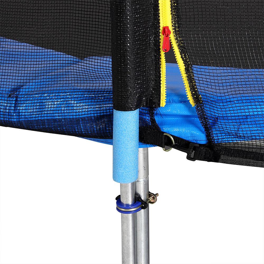 outdoor trampolin gartentrampolin komplettset 244 cm netz zubeh r t v s d gs ebay. Black Bedroom Furniture Sets. Home Design Ideas