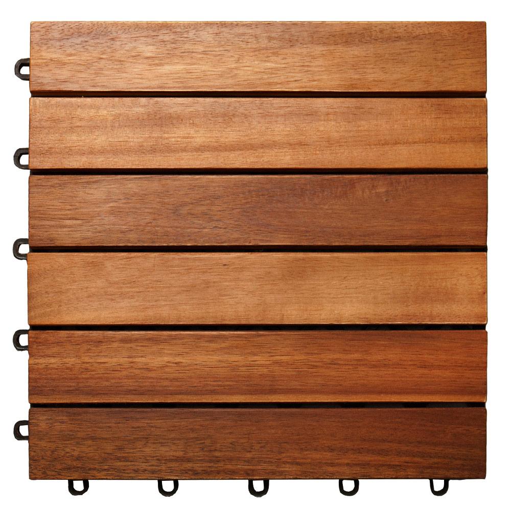 88103752 Holzfliese Akazie - 30x30cm