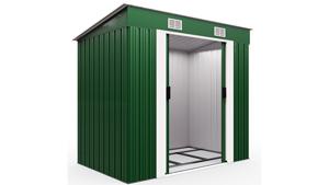 Gerätehaus Grün Metall 210x132x186cm